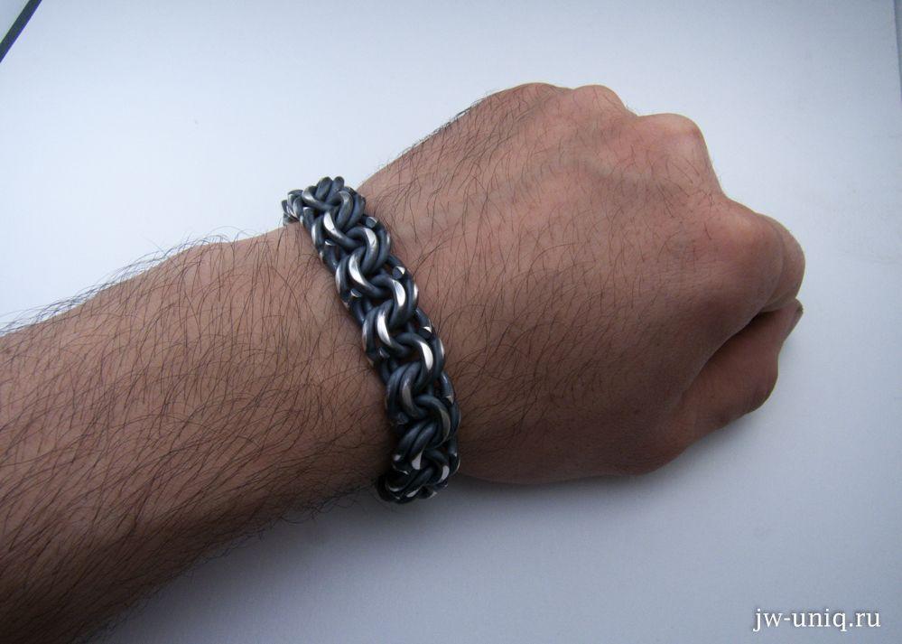 браслет серебряный мужской купить